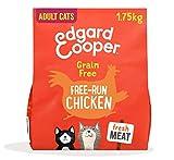 Edgard & Cooper Pienso Gatos Adultos Esterilizados o Activos Comida Seca Natural Sin Cereales 1.75kg Pollo Fresco, Naturalmente fácil de digerir, Alimentación Sana y Equilibrada, Proteína
