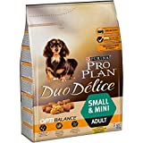 Purina ProPlan Duo Delice Mini pienso para Perro pequeño Adulto 4 x 2,5 Kg