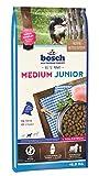 bosch HPC Medium Junior | Comida seca completa para perros jovenes de razas medios a grandes | 15 kg