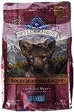 Blue Buffalo Wilderness Puppy Rocky Mountain Recipes Red Meat-Grano Free 4 lb by Blue Buffalo